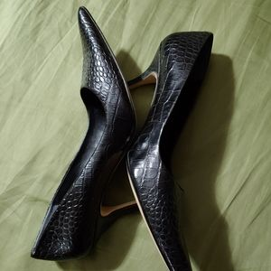 Nine West pumps, size 9, black